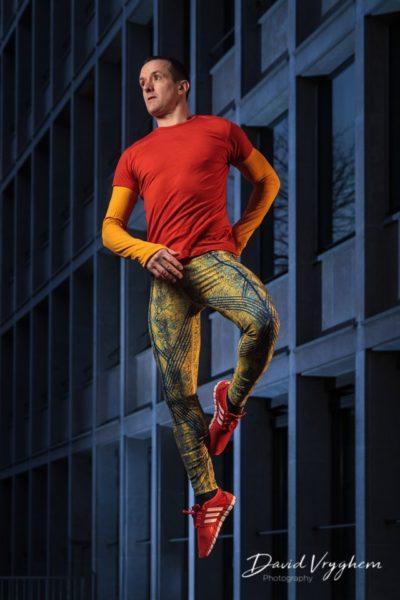 Image d'un danseur à Lausanne
