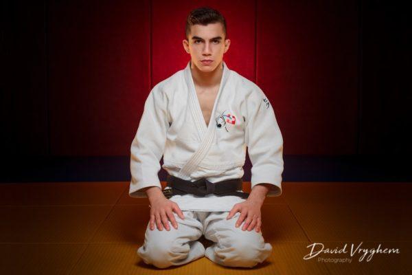 Naim Matt, 5ème aux Championnats d'Europe Cadets Athènes 2014 en Judo