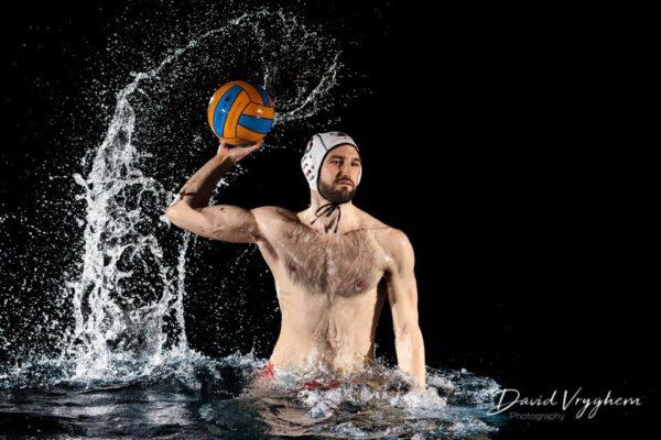 Photo de Adam Novak, 4ème de la Ligue Nationale A avec Cheltenham, en Water-Polo